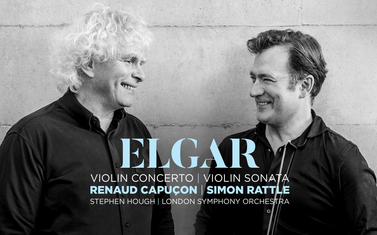 Elgar Renaud Capucon Simon Rattle
