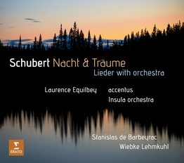 Schubert Nacht & Traume - Lieder with orchestra