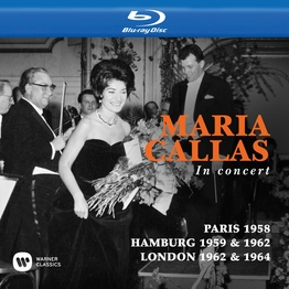 Callas at Paris 1958, Hamburg 1959 & 1962 and London 1962 & 1964