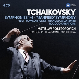 Tchaikovsky: Symphonies 1-6, Manfred Symphony, Overtures, Rococo variations