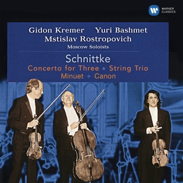 Schnittke: Concerto for Three, String Trio, Minuet