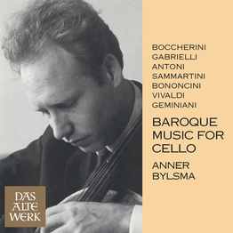 Baroque Music for Cello (DAW50)