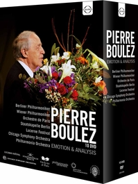 Pierre Boulez - Emotion & Analysis