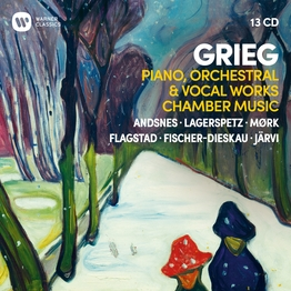 Grieg: Piano, Orchestral & Vocal Works, Chamber Music