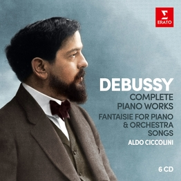 Debussy: Complete Piano Works, Fantaisie, 25 Songs