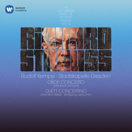 Strauss, R: Oboe Concerto & Duett-Concertino for Clarinet, Bassoon and Strings