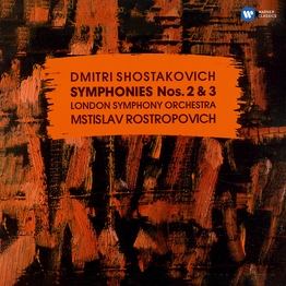 "Shostakovich: Symphonies Nos. 2, ""To October"" & 3, ""First of May"""