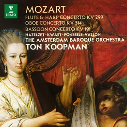 Mozart: Concertos for Flute and Harp, Oboe & Bassoon