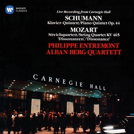 "Schumann: Piano Quintet & Mozart: String Quartet No. 19 ""Dissonance"""