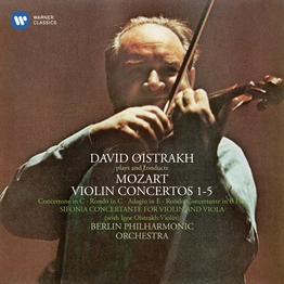 Mozart: Violin Concertos & Sinfonia concertante for Violin and Viola