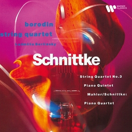 Schnittke: String Quartet No. 3, Piano Quartet & Piano Quintet - Mahler: Piano Quartet