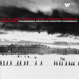 Out of Russia. Music by Schnittke, Lourié, Stravinsky & Tchaikovsky