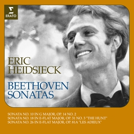 "Beethoven: Piano Sonatas Nos. 10, 18 ""The Hunt"" & 26 ""Les Adieux"""