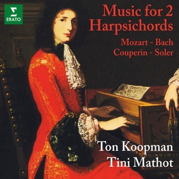 Mozart, WF Bach, Couperin & Soler: Music for 2 Harpsichords