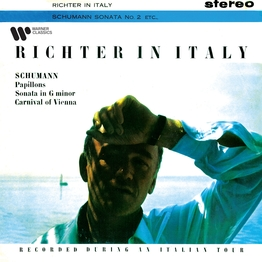 Richter in Italy. Schumann: Papillons, Piano Sonata No. 2 & Carnival of Vienna