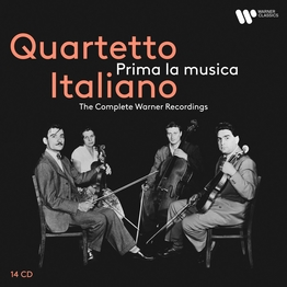 Quartetto Italiano - Prima la musica ּ- The Complete Warner Recordings