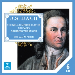 Bach Well-Tempered Clavier, Toccatas, Goldberg Variations