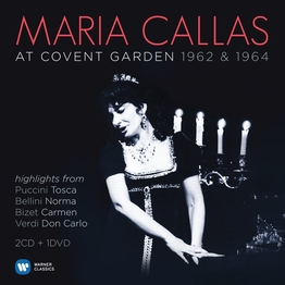 Maria Callas - At Covent Garden (2CD+1DVD)