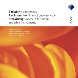 Rachmaninov : Piano Concerto No.4 - Stravinsky : Concerto for Piano and Wind Instruments - Scriabin : Prométhée [Apex]
