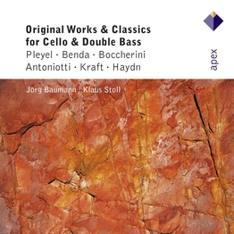 Original Works and Classics for Cello and Double Bass