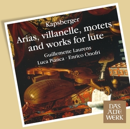 Arias, villanelle, motets and works for lute