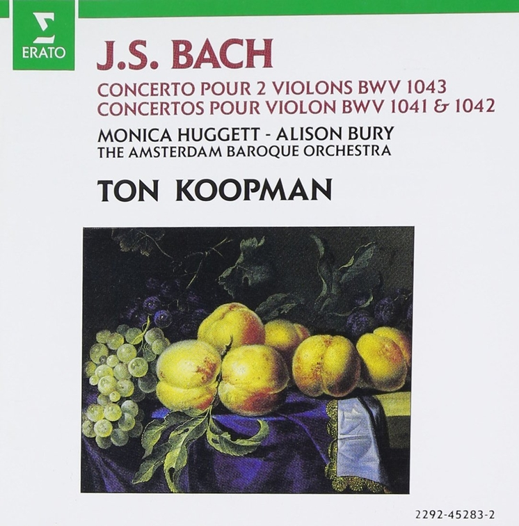 Bach: Concertos - for 2 violins in D minor; for violin in E major & A minor
