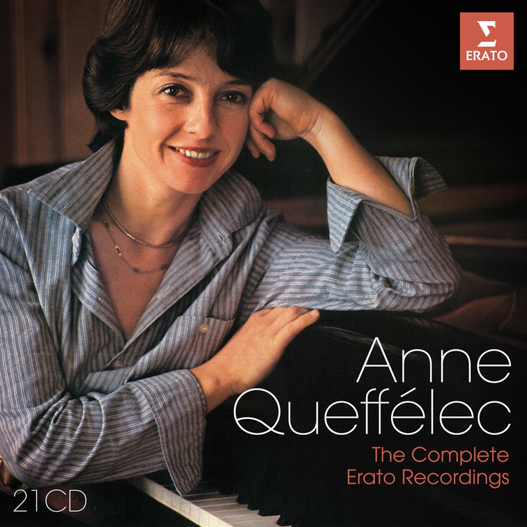 Anne Queffélec, The Complete Erato Recordings