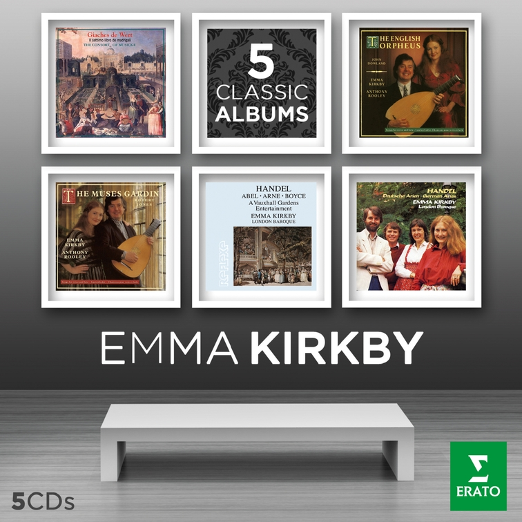 Emma Kirkby - Five Classic Albums