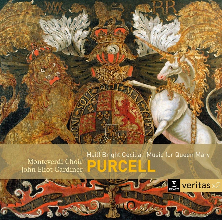 Purcell: Hail Bright Cecilia, Funeral Music (Veritas)