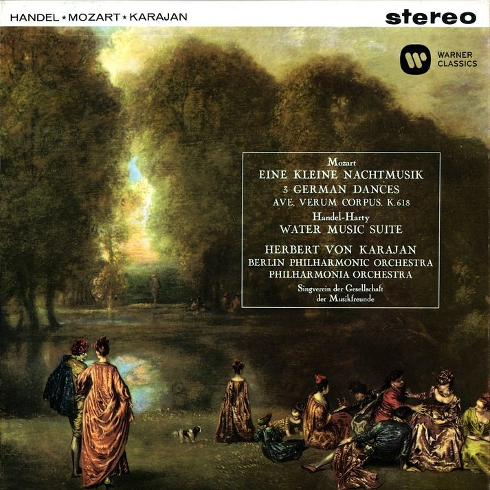 Mozart: Serenade No. 13, Ave verum corpus, German Dances - Händel: Water Music