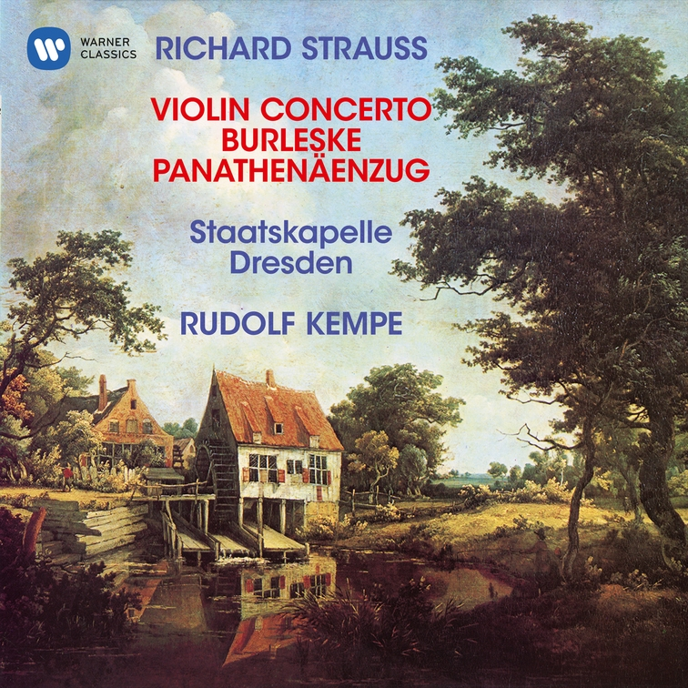 Strauss: Violin Concerto, Op. 8, Burleske for Piano and Orchestra & Panathenäenzug, Op. 74