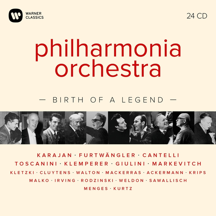 Philharmonia Orchestra - Birth of a Legend