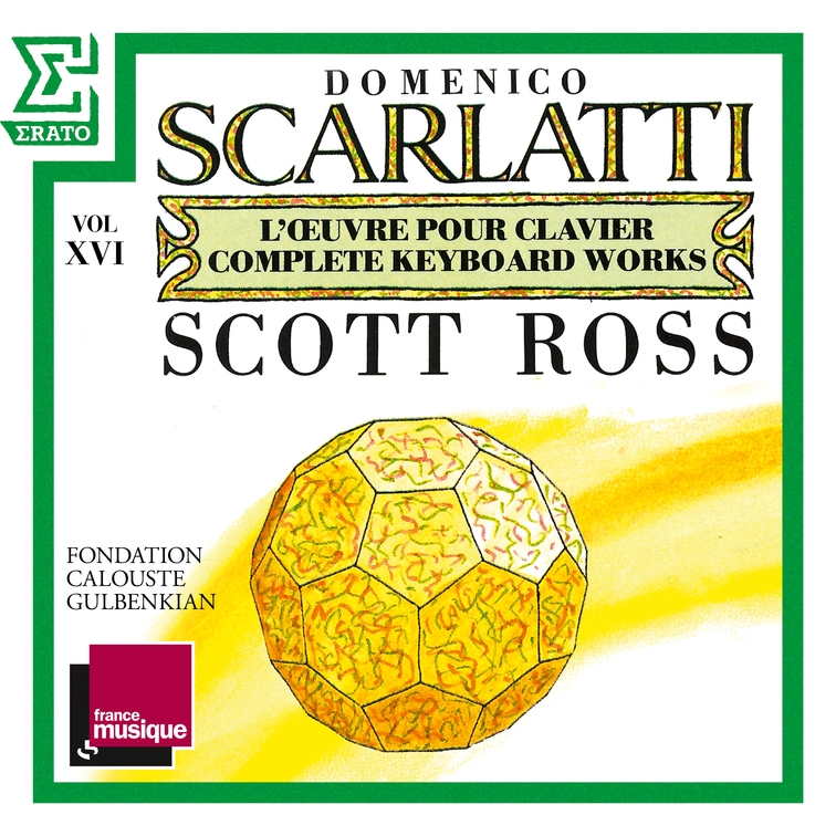 Scarlatti: The Complete Keyboard Works, Vol. 16: Sonatas, Kk. 312 - 331