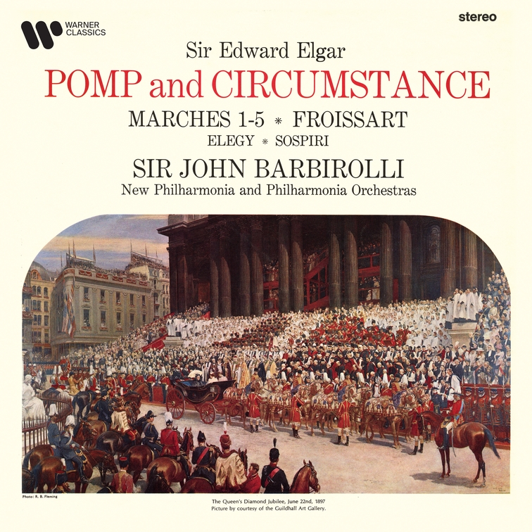 Elgar: Pomp and Circumstance Marches, Froissart, Elegy & Sospiri