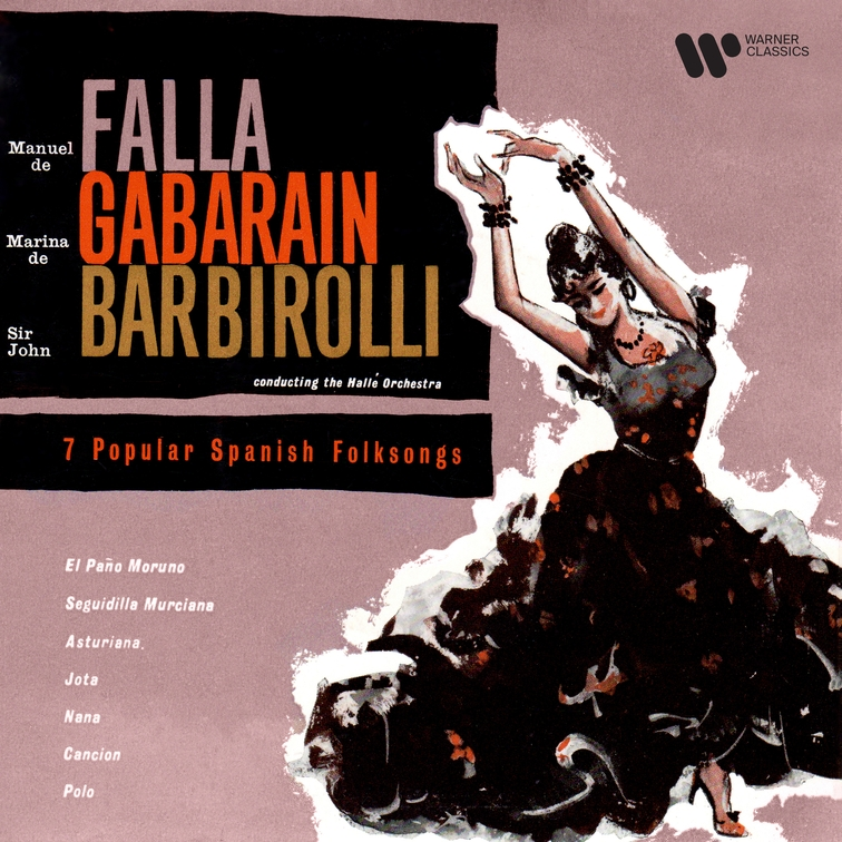 Falla: Popular Spanish Folksongs (Orch. Halffter)