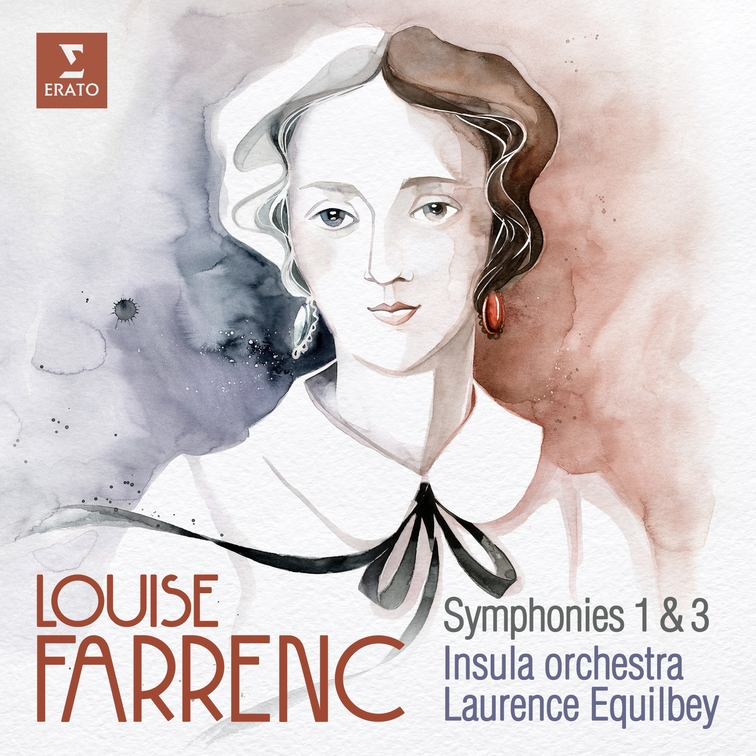 Louise Farrenc: Symphonies No. 1 & No. 3 Insula Orchestra Laurence Equilbey
