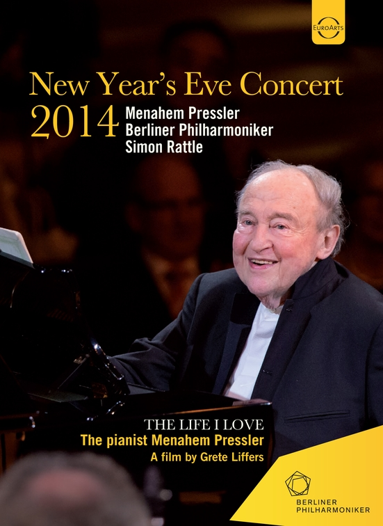 New Year's Eve 2014 Menahem Pressler Simon Rattle BPO