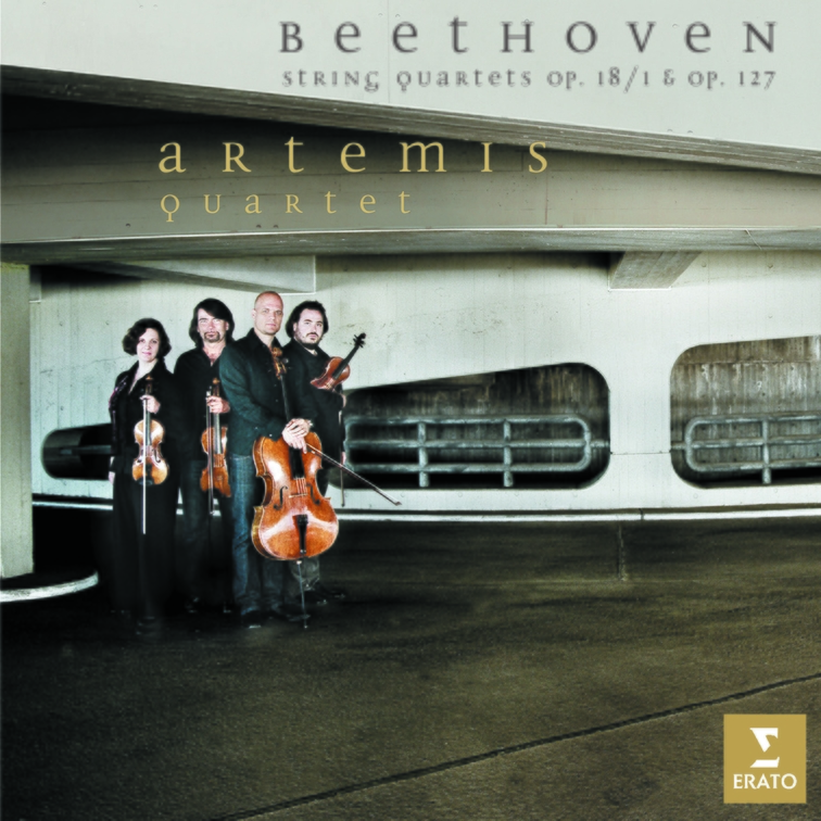 Beethoven: String Quartets Op.18/1 and Op.127