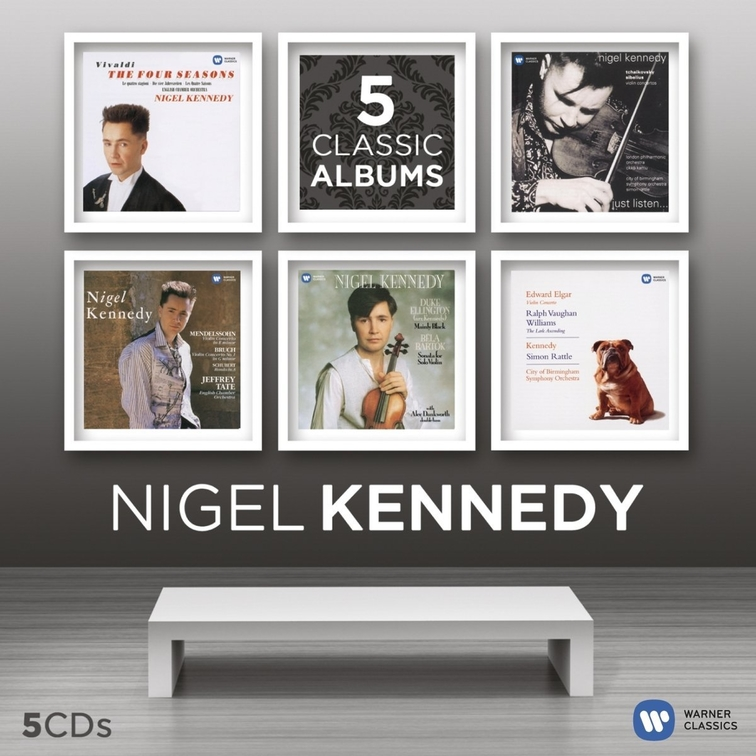 Nigel Kennedy - Five Classic Albums