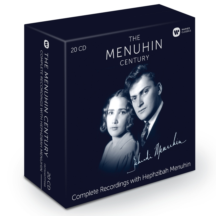 The Menuhin Century: Complete Recordings with Hephzibah Menuhin