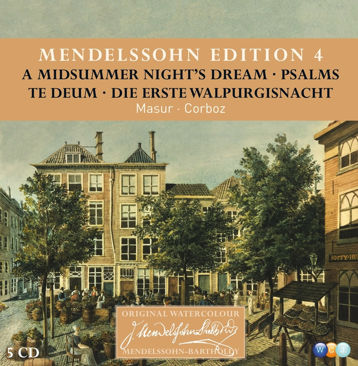 Mendelssohn Edition Vol. 4: Choral Music