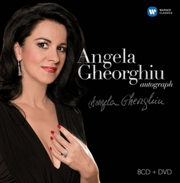 Angela Gheorghiu Autograph Warner boxed set