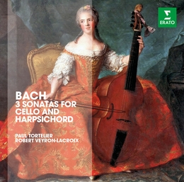 Bach: Three Sonatas for Cello & Harpsichord