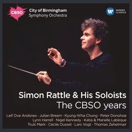 SImon Rattle & His Soloists - The CBSO Years