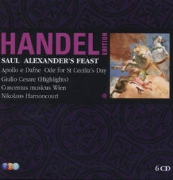 Handel Edition Vol. 7 - Saul; Alexander's Feast; Apollo e Dafne