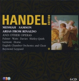 Messiah; Samson; Arias from Rinaldo