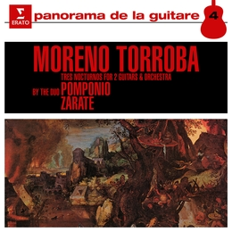 Moreno Torroba: 3 Nocturnos for Two Guitars and Orchestra & Pieces for Guitar Duet