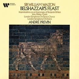 Walton: Belshazzar's Feast & Improvisations on an Impromptu of Benjamin Britten