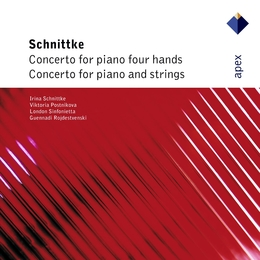 Schnittke: Concerto for Piano 4 Hands & Concerto for Piano & Strings